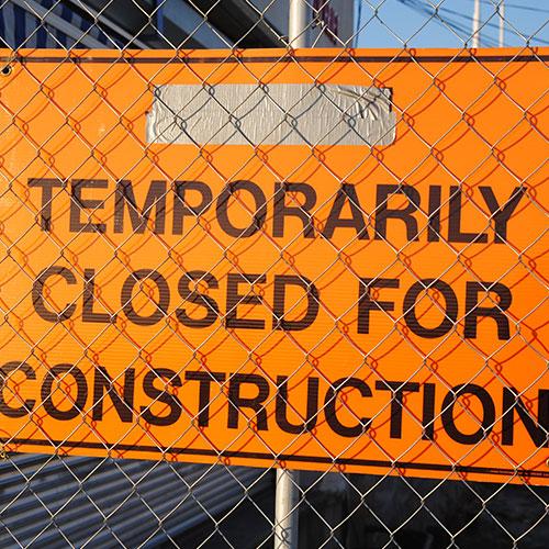 Get full range of construction signs in Atlanta, GA