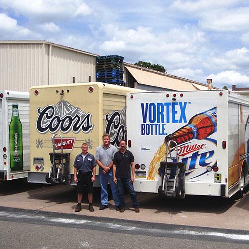 Advertise your brand through fleet wraps in Atlanta, GA